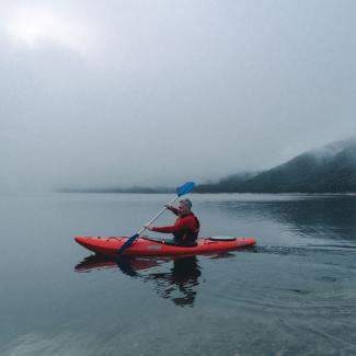 Kayaking in the Snowy Valleys
